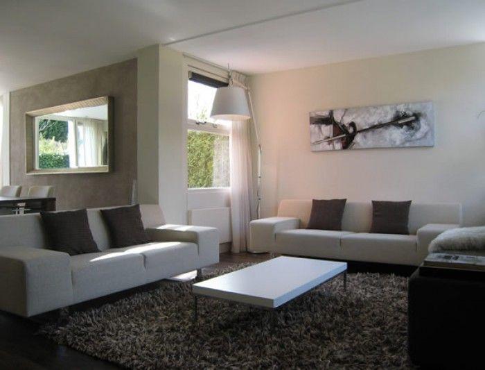 Donkere vloer en ruw vloerkleed moodboard luchtenburg - Deco moderne woonkamer ...