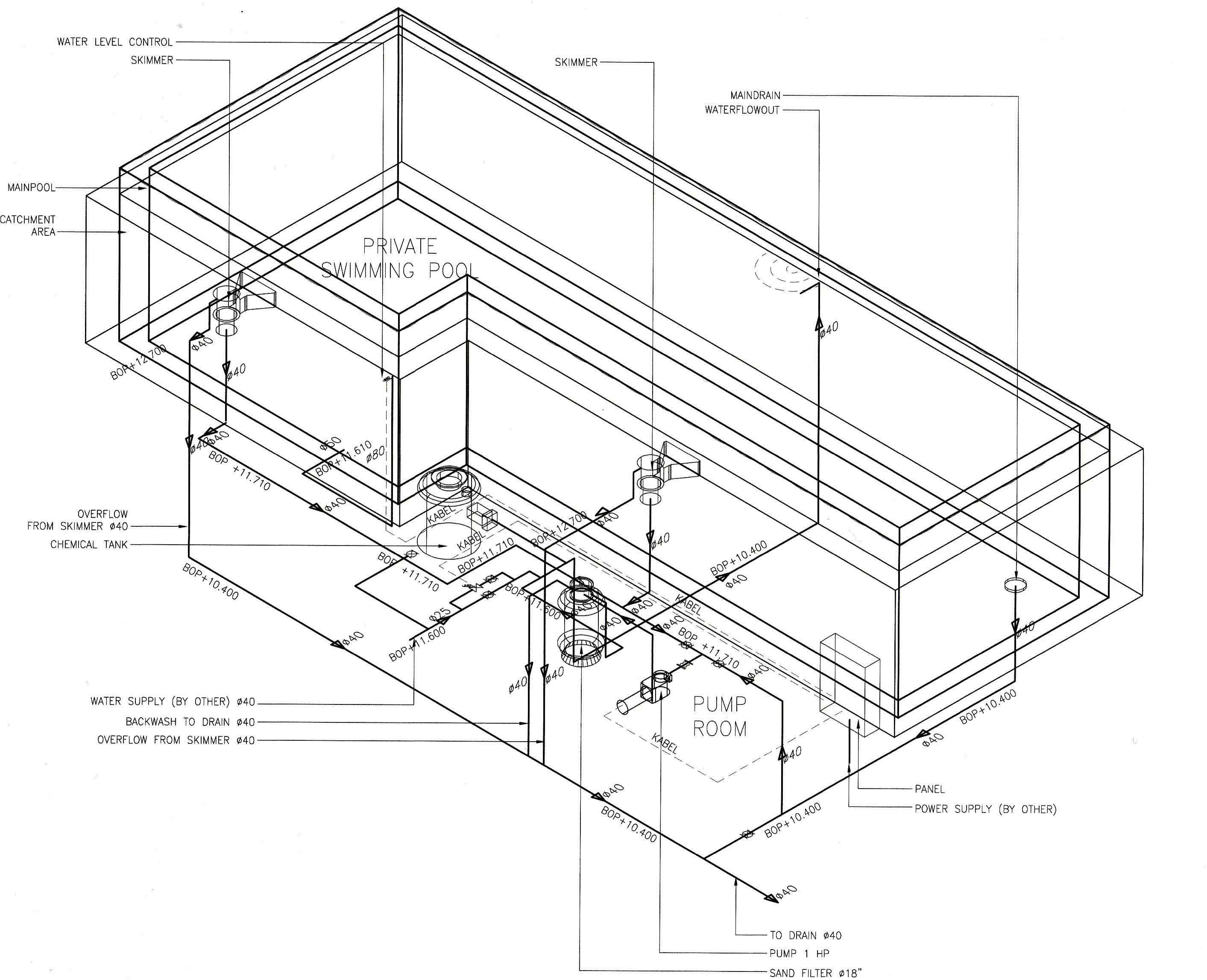 Image Gallery For Infinity Pool Design Drawings Image