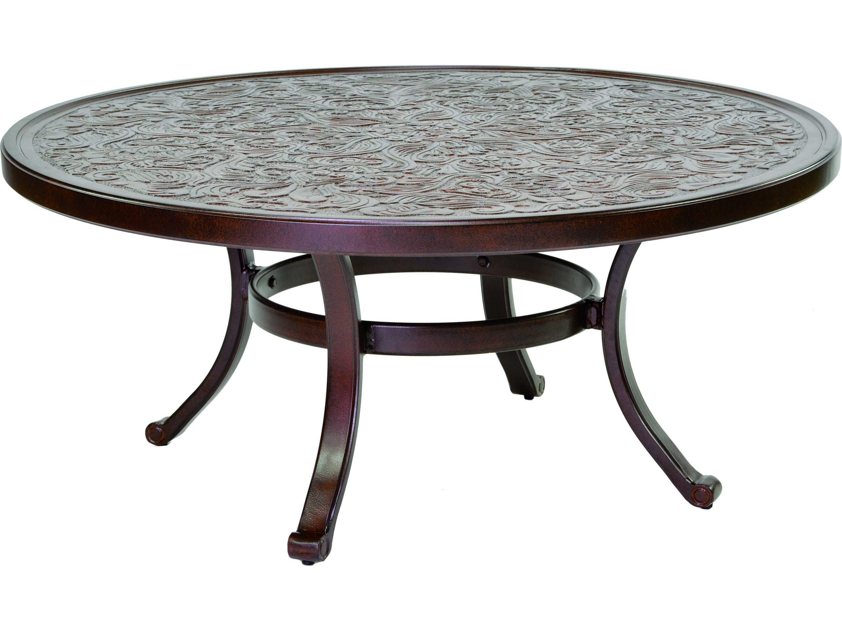Castelle Vintage Cast Aluminum 42 44 Round Coffee Table Ready To Assemble Ncc42 Garden Coffee Table Round Wood Coffee Table Round Coffee Table Ikea [ 2554 x 3404 Pixel ]