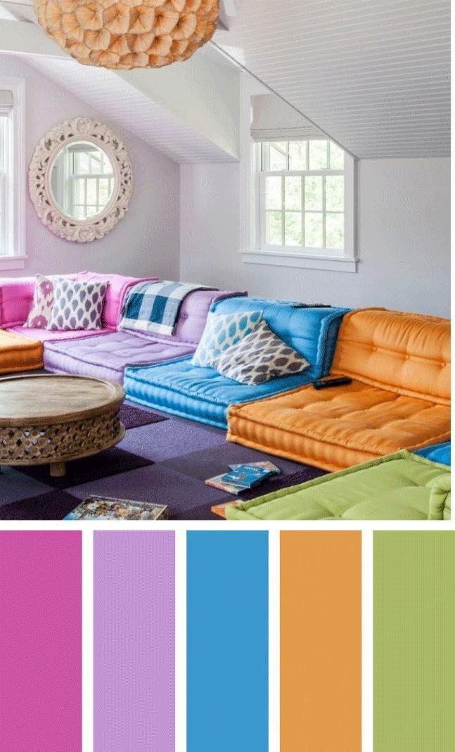 Living Room Dark Colors
