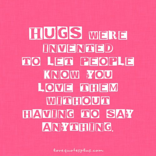OnlineDating365 #SweetLoveQuote from #LovequotesPlus Hugs were ...