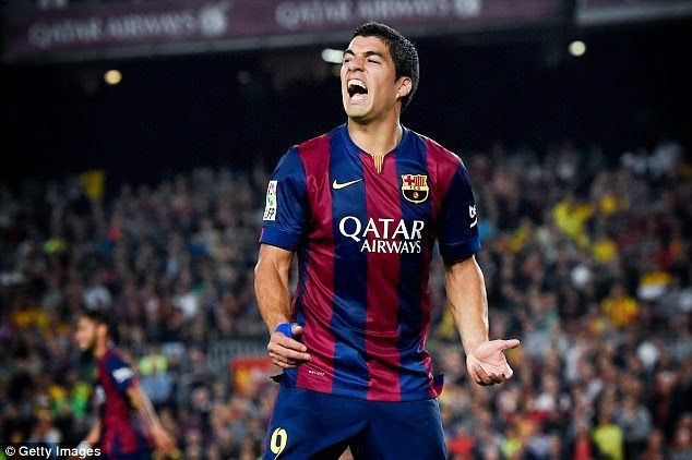 Welcome to Hakeem's Blog: Luis Suarez is not as prolific for Barcelona as he...