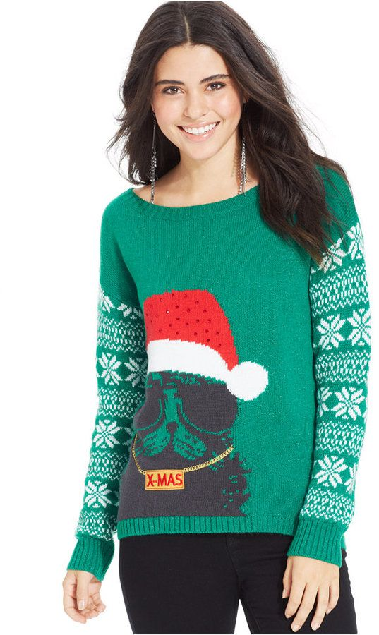 Sweater Project Juniors' Fair Isle Christmas Sweater/ JUST WHEN I ...