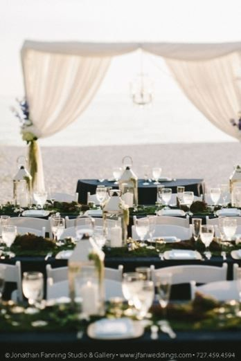 Wedding Reception Held On The Sand At The Lions Club In Treasure