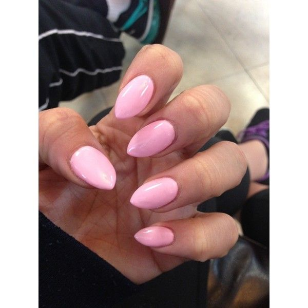 Beautiful Pink Stiletto Nails 2 Double Team Dynamicpunch