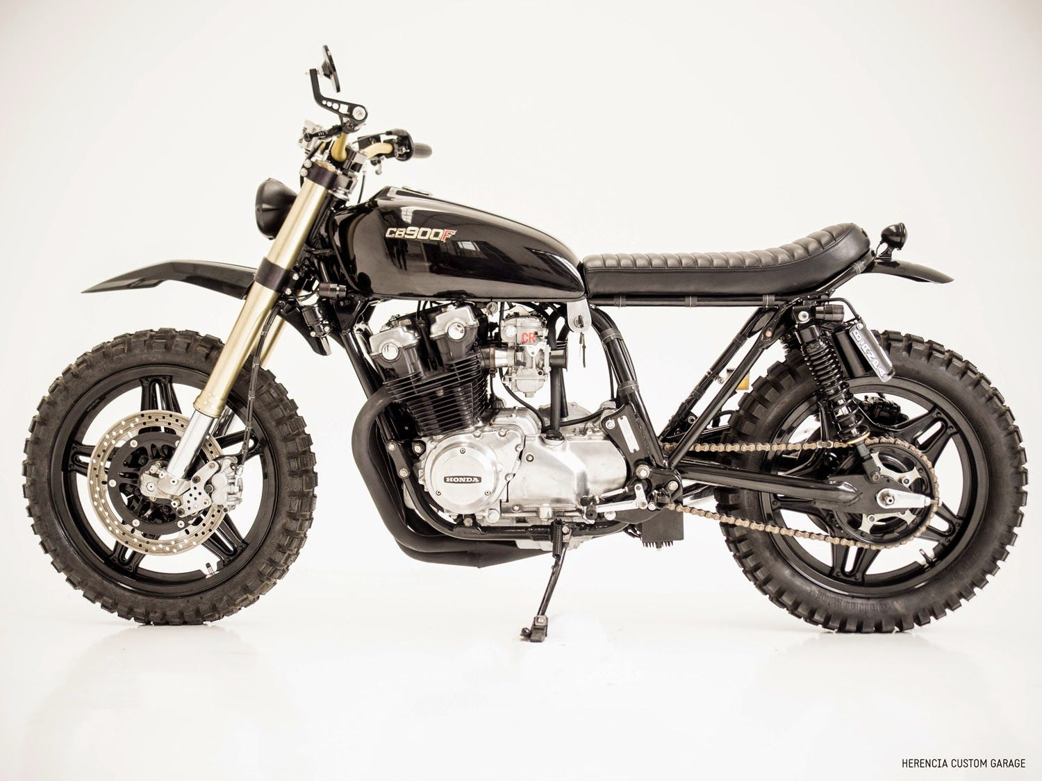 HERENCIA CUSTOM GARAGE: H.C.G. Project # 21 - CB 900B