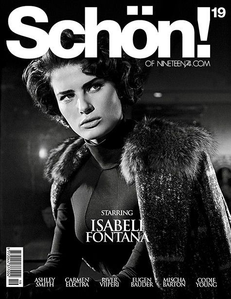 Take a Closer Look At Supreme FW19 in 'THEM Magazine' #schonmagazine Schön! Magazine #19 is out on newsstands now. Cover girl,Isabeli Fontana, gets the spread #schonmagazine