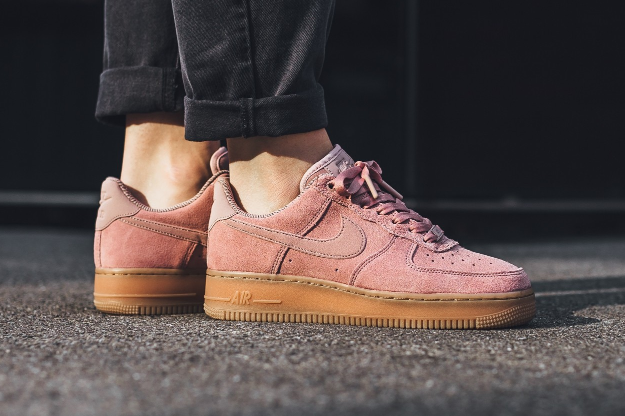 Now Available: Nike Air Force 1 Low Particle Pink