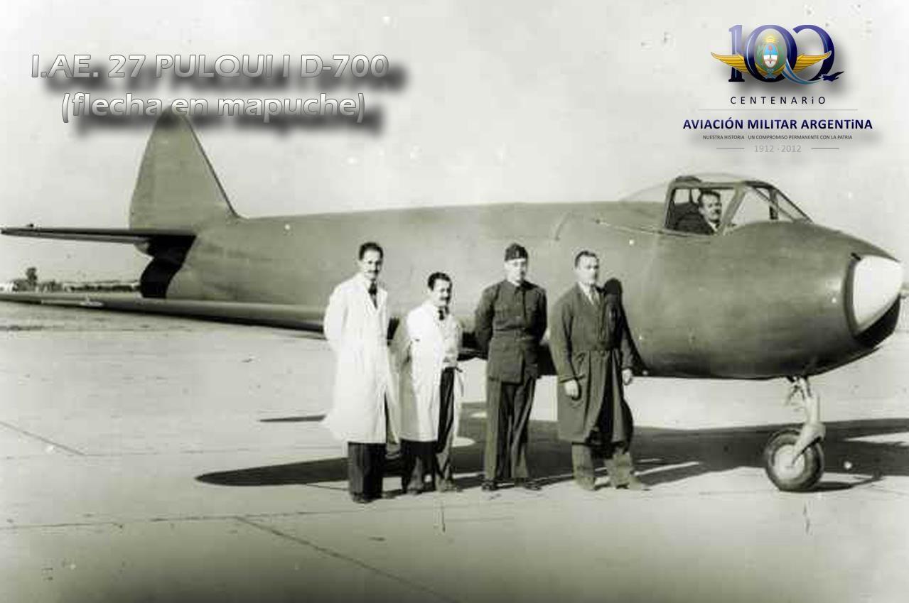 АРГЕНТИНА - боевые реактивные самолеты. Шли в числе первых, но