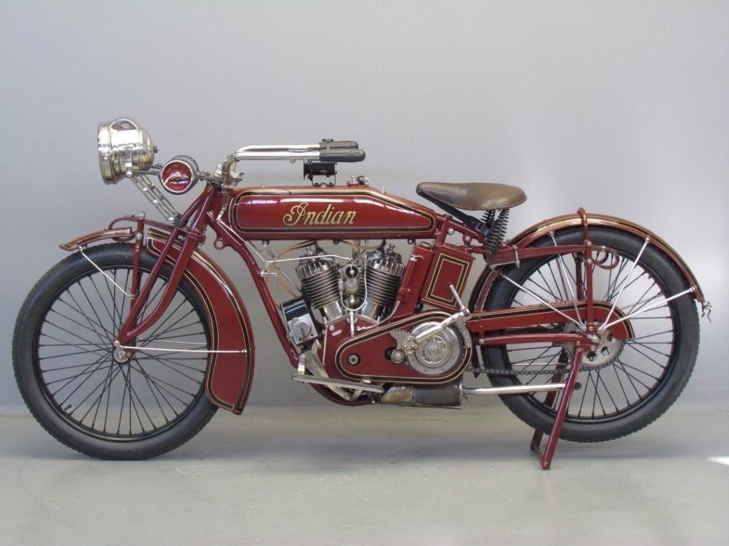 Indian 1917 Powerplus 1000cc Indian Motorcycle Motorcycle Indian Bike