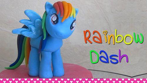 Rainbow-Dash-Cake-Central