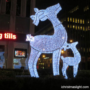 White Lighted Outdoor Christmas Reindeer Ichristmaslight Outdoor Christmas Lights Outdoor Christmas Reindeer Outdoor Christmas