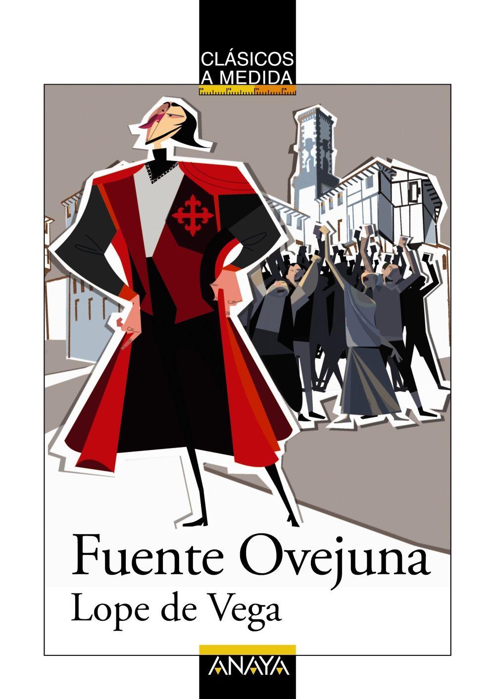 """""""Fuenteovejuna"""" es una de las obras más populares y representadas de Lope de Vega, lo que equivale a decir que es una de las más importantes de nuestro teatro clásico. En ella se plasma la historia, tan antigua como el mundo, en la que los humildes luchan contra los todopoderosos tiranos. http://www.anayainfantilyjuvenil.com/core.php?opcion=ficha&codigo_comercial=1510031 http://rabel.jcyl.es/cgi-bin/abnetopac?SUBC=BPSO&ACC=DOSEARCH&xsqf99=1749528"""