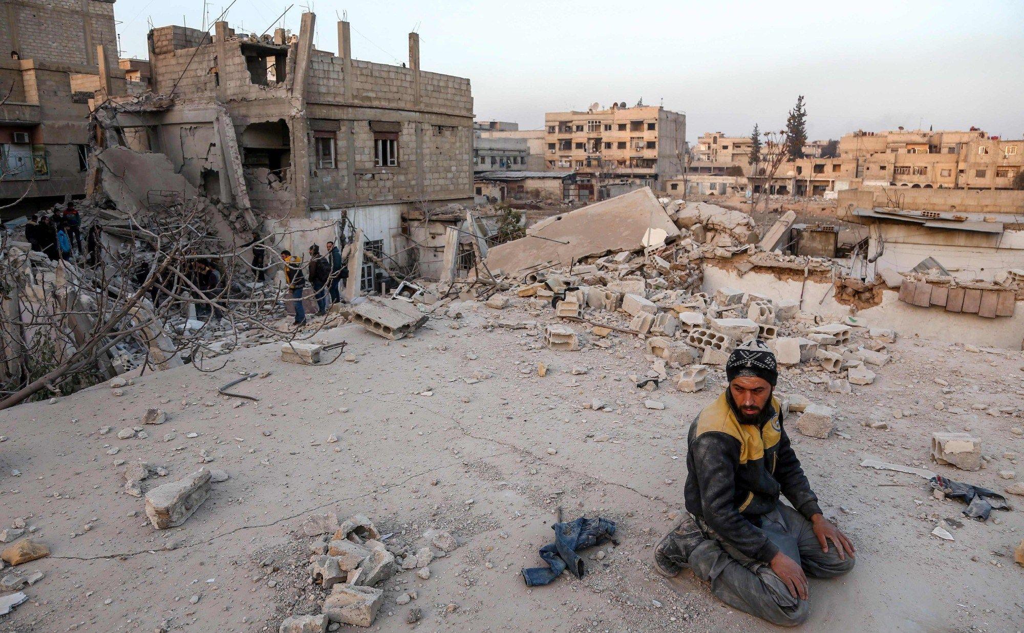 Eastern Ghouta, theater of a Damascus-Washington