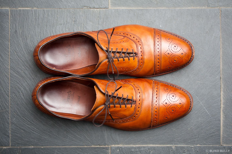 cheaper 23fd0 aea07 Review: Allen Edmonds Strand in Walnut | Style and Design ...