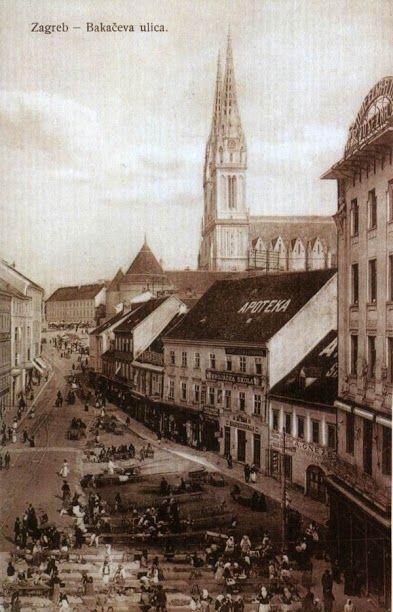 Zagreb 1862 Bakaceva Ulica Zagreb Croatia Zagreb Croatia