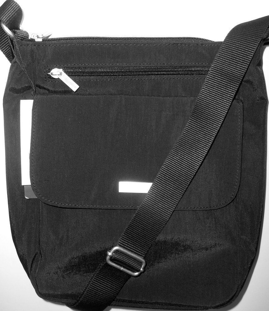 452e3979b BAGGALLINI TOWN BAGG Black Crossbody Shoulder Bag Front Pockets Vegan NEW!!  NWT #Baggallini #CrossBody
