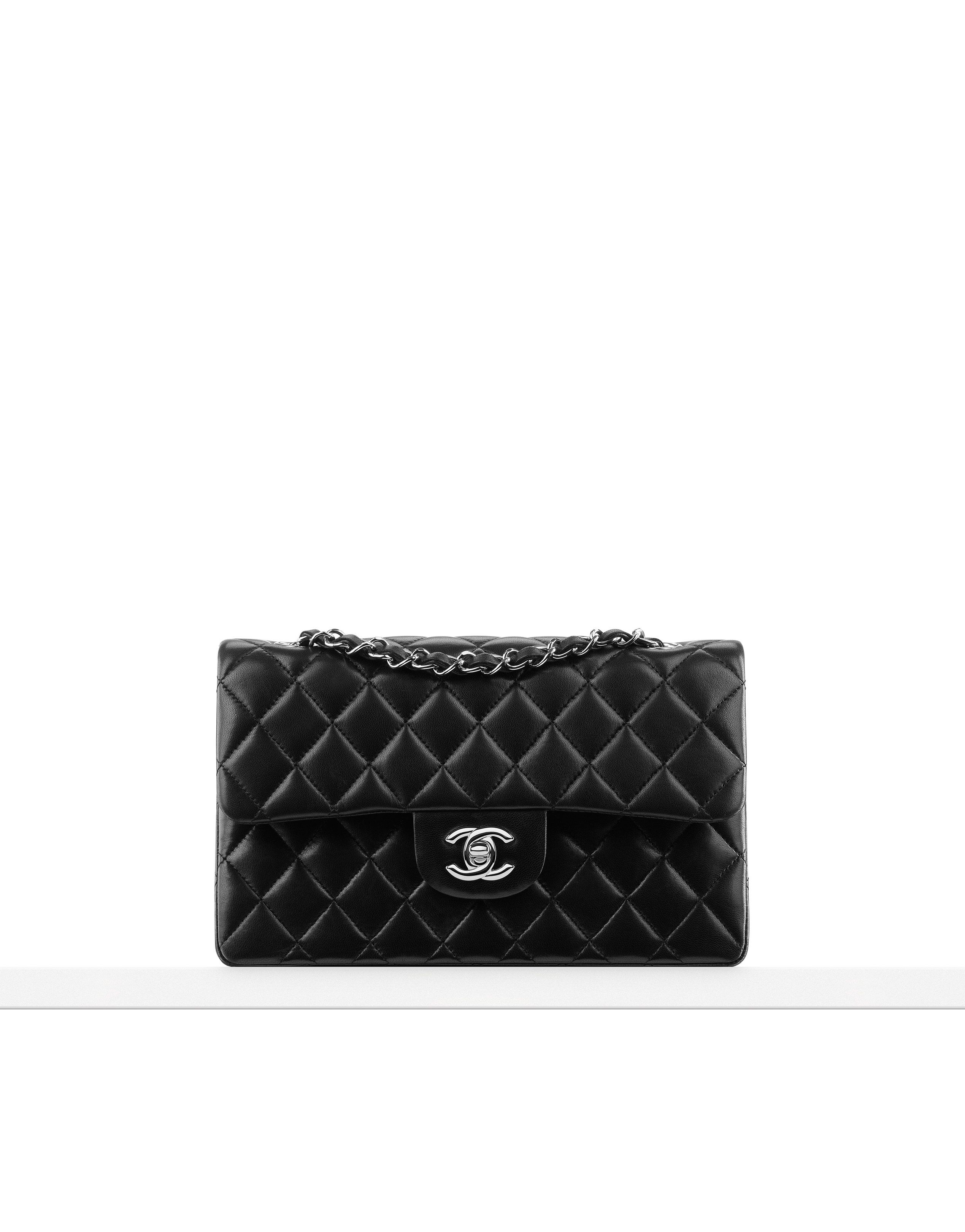7fd09146f5bb Small classic flap bag in quilted... - CHANEL | Style | Chanel ...