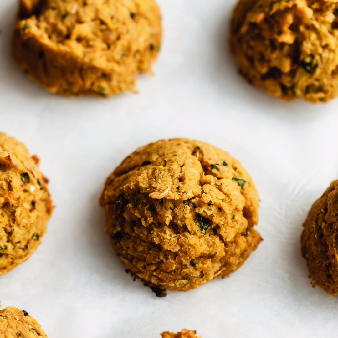 Photo of Spicy sweet potato falafel