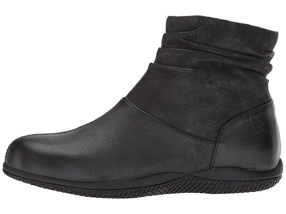 Softwalk Hanover Women S Shoes Black Weathered Leather