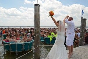 Dog Is Integral Part Of Wedding On The Clarion Hotel Beach In Ocean City Md Https Www Roxbeachweddings Weddings Pinterest
