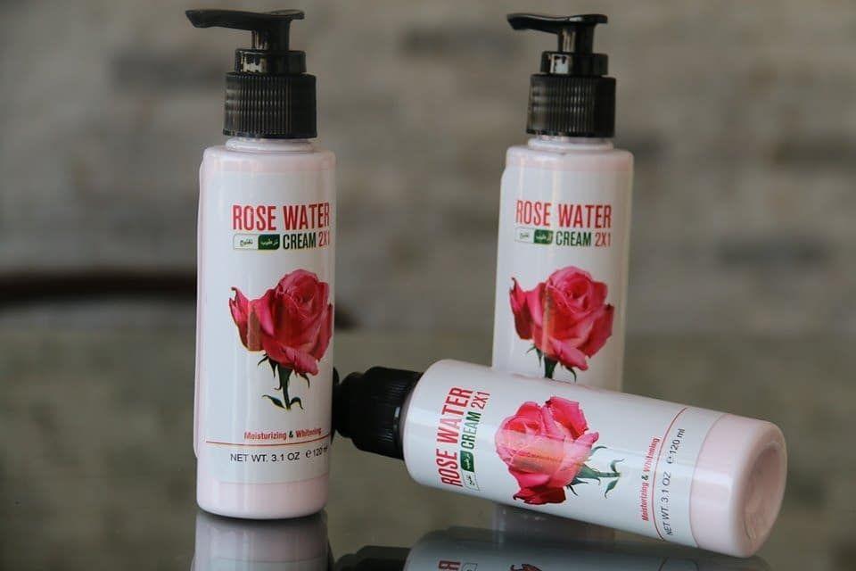 كريم ماء ورد بـ30 جنيه تقدري تطلبي الاوردر برساله لصفحه Rose Water Soap Bottle Hand Soap Bottle