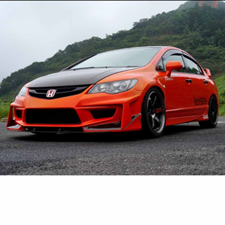 Seeker Ultimate Wide Body Kit Cfrp Frp For Civic Type R Fd2 Miami Fl Japan Parts Jdm And Japan Body Kit Wide Body Kits Body Kit Wide Body