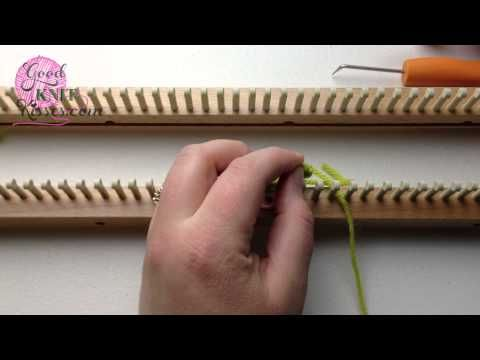 Loom Knit Cast On True Cable Cast On Easy No Crochet Hook Matches
