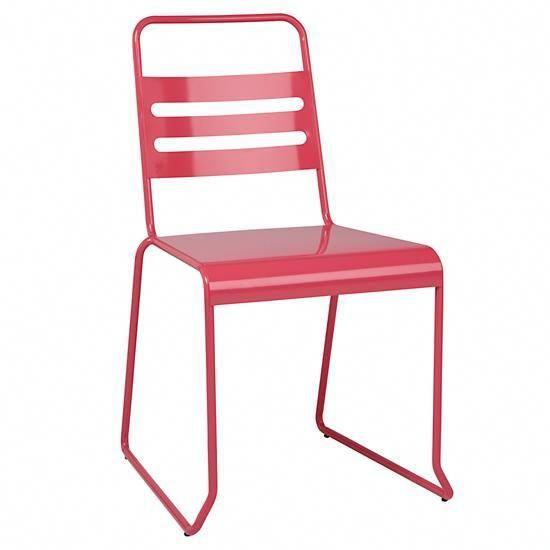 Homeroom Metal Desk Chair (Pink) #metaloutdoorchairs Kids Hanging
