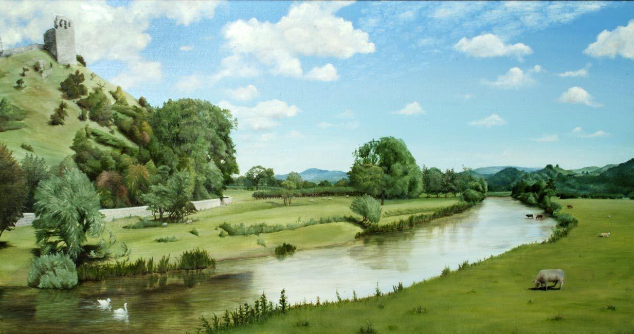 Landscape painting | Landscape Paintings | Landscape Painting ... for Countryside Landscape Paintings  588gtk