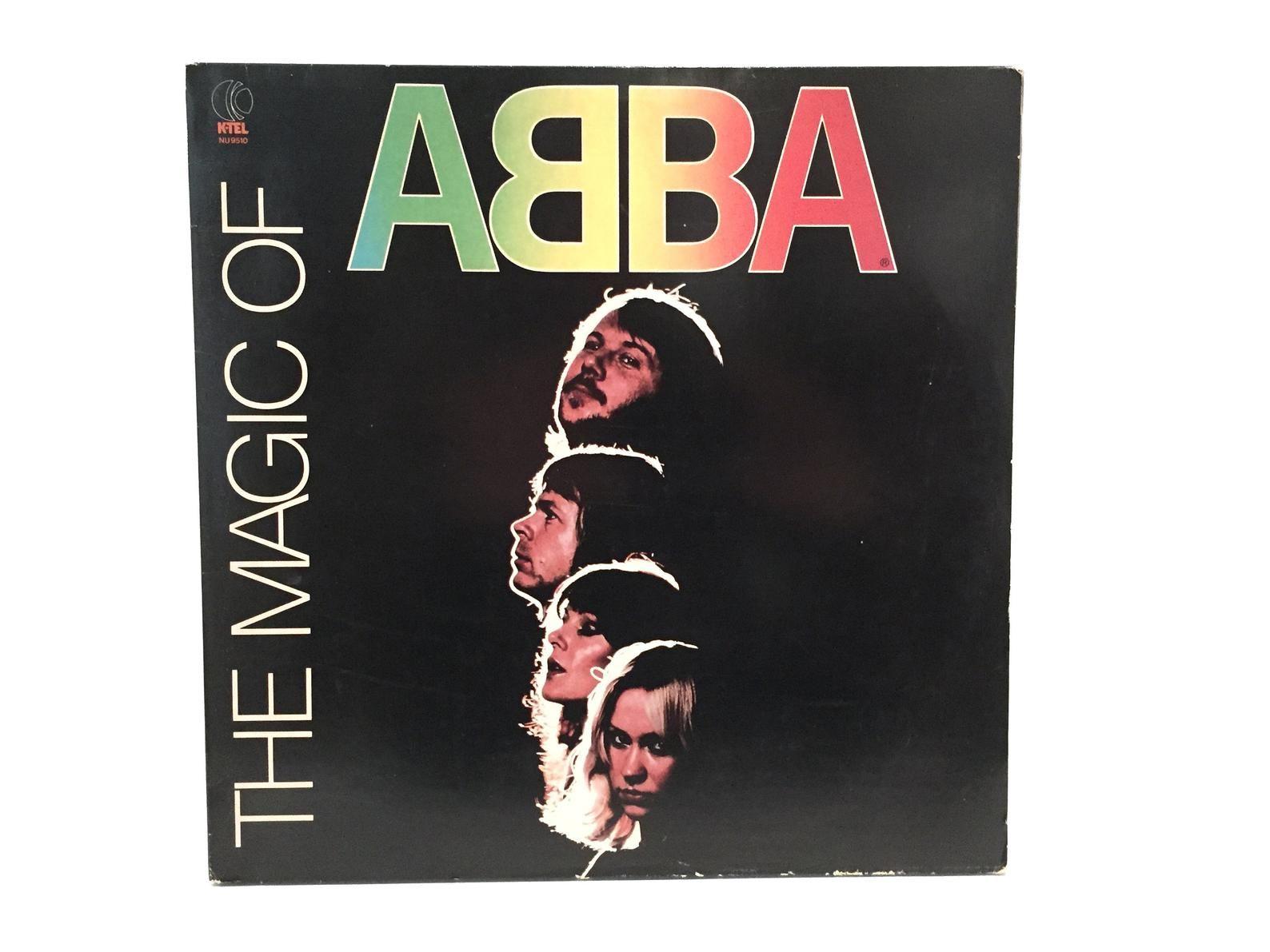 Abba The Magic Of Vintage Vinyl Record Album Greatest Hits 1980