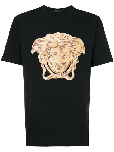 VERSACE Medusa Print T-Shirt   versace   Pinterest   Versace and ... 195be50faca