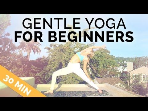 gentle yoga for beginners 30min  therapeutic no