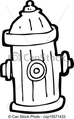 Vector Cartoon Fire Hydrant Stock Illustration Royalty Free