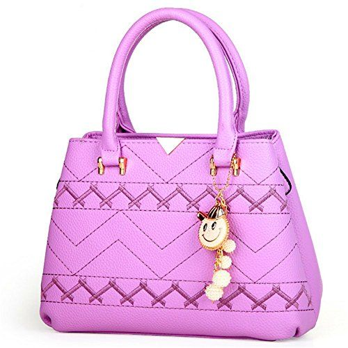 KaiSasi New Women's Casual Fashion Versatile Bag Shoulder Messenger Bag(Purple) * See this great product.