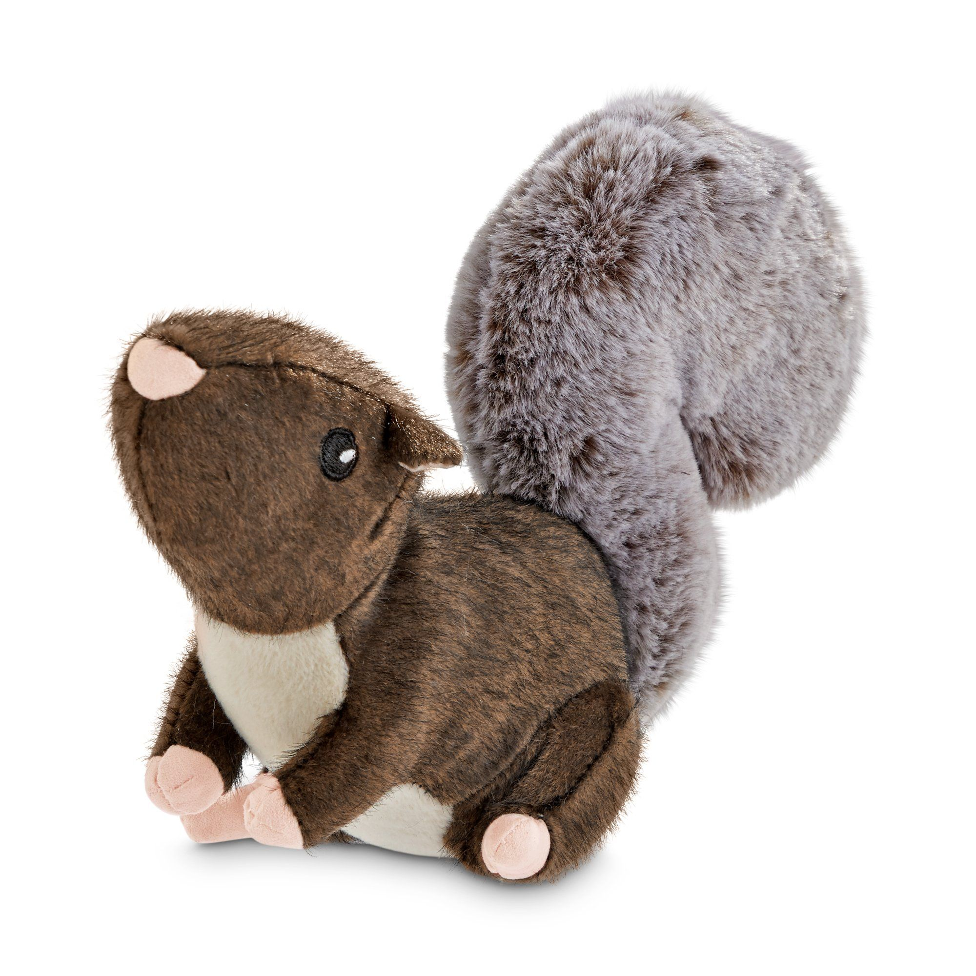 Leaps Bounds Wild Plush Squirrel Dog Toy Small Dog Toys