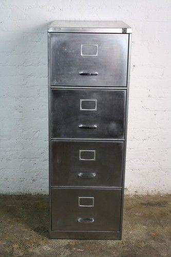 Vintage Metal Filing Cabinet Metal Filing Cabinet Filing Cabinet Vintage Industrial