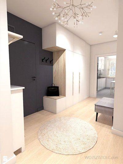 Moderner eingangsbereich innen  nowoczesne wnętrze | Волны | Pinterest | Flure, Garderoben und Flur ...