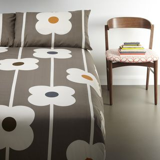 Orla Kiely Large Flower 3-piece Duvet Cover Set | Overstock.com Shopping - The Best Deals on Duvet Covers