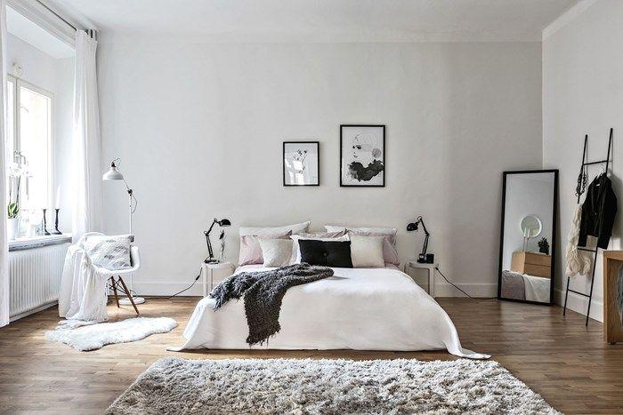 Spacious Bedroom Minimalist Bedroom Bedroom Decor Bedroom