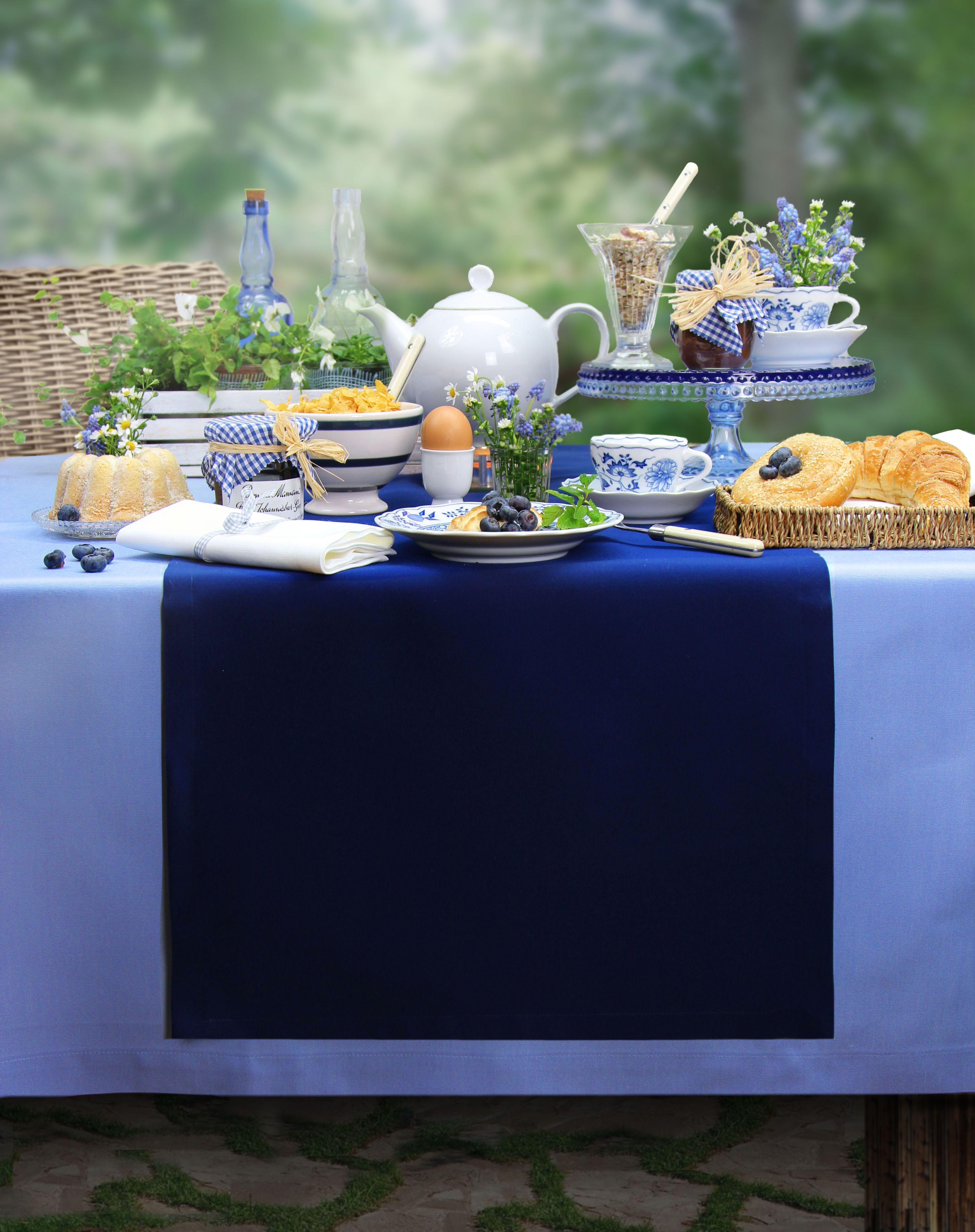 Gartentischdecke ATMOSPHERE Tischdeko Pinterest