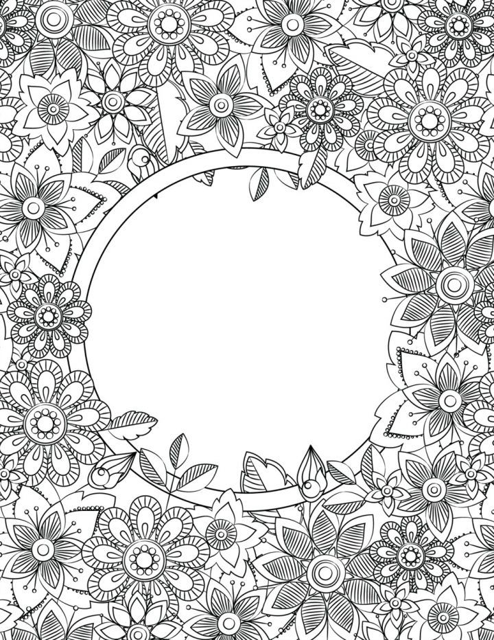 Back to School Binder Cover Adult Coloring Pages | color pages ...