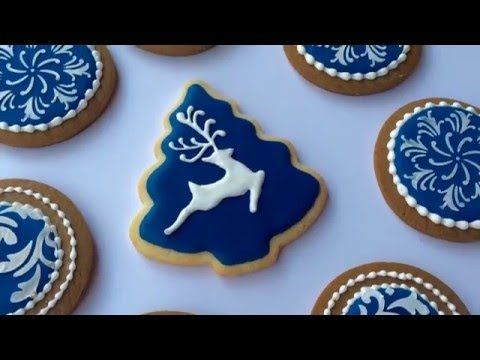 how to decorate christmas cookies youtube - Christmas Cookies Decorating Ideas Youtube