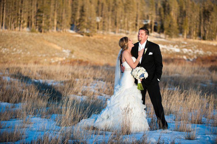 Devils thumb ranch, romantic winter wedding, snowy ...
