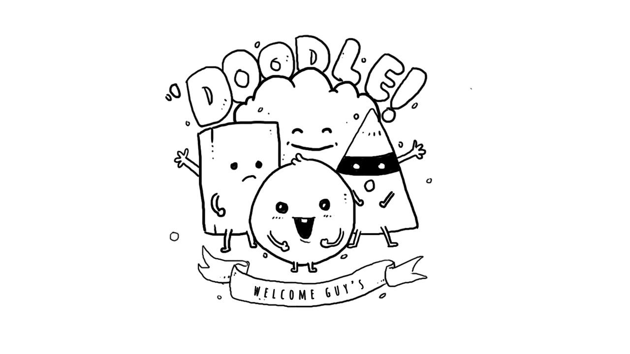 Doodles for beginners how to draw a doodle art for beginners youtube