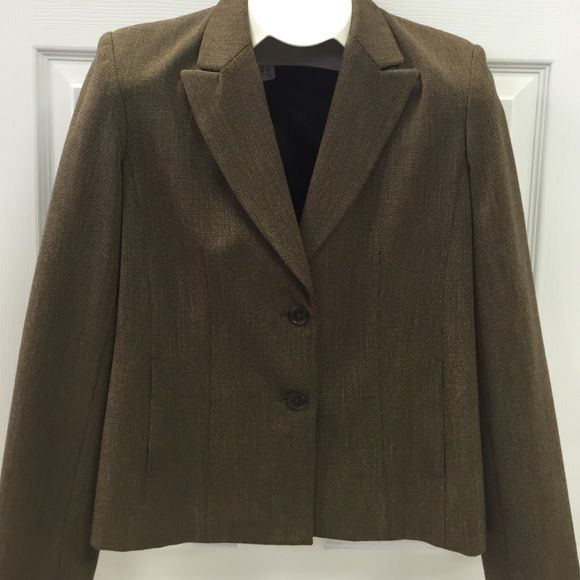 Blazer size 8 petite This sharp looking blazer is size 8 petite, in excellent used condition, by Rafaella petites. Rafaella Jackets & Coats Blazers