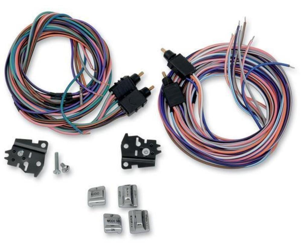 Drag Specialties 0616 0126 Handlebar Radio Cruise Switch Kit Rivco Wiring Harness Chrome
