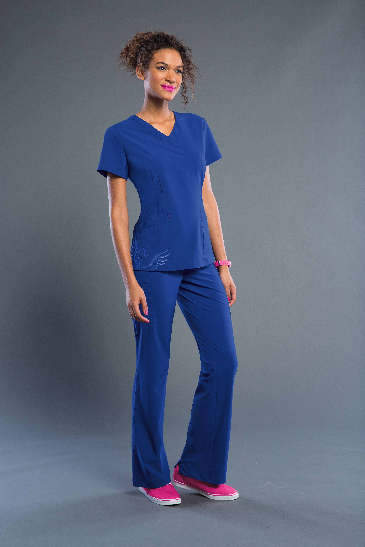 359630fbb1b Smitten's 101028 HEADLINER Tunic looks totally rockin' in Galaxy! #Smitten # Scrubs #Medical #Fashion #Uniforms #New #Fall #Styles #Nurse #Nursing #CNA  #Med ...