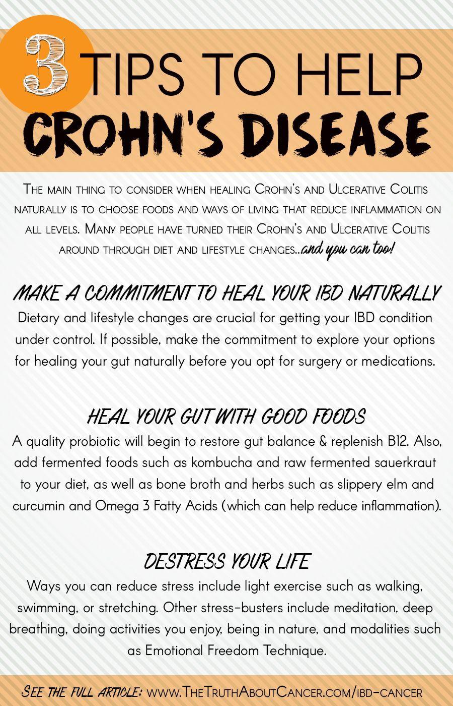 Choroby Crohna Diät