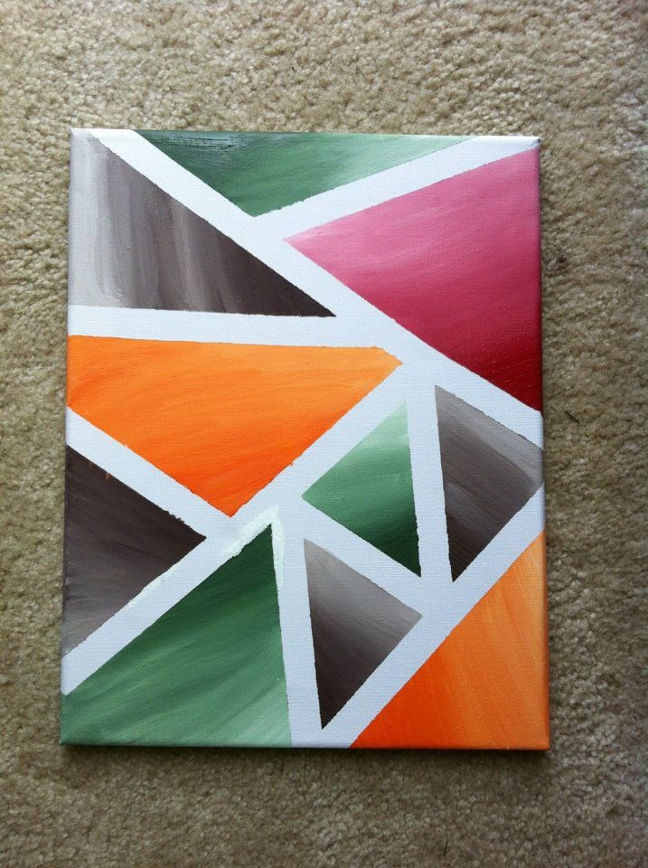 From Yours Truly Canvas Painters Tape And Paint